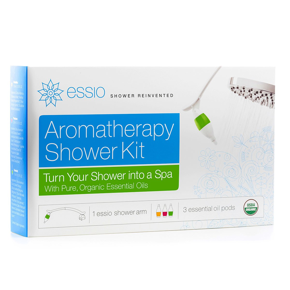 The Aromatherapy Shower Kit | Essential Oil Diffuser | UncommonGoods