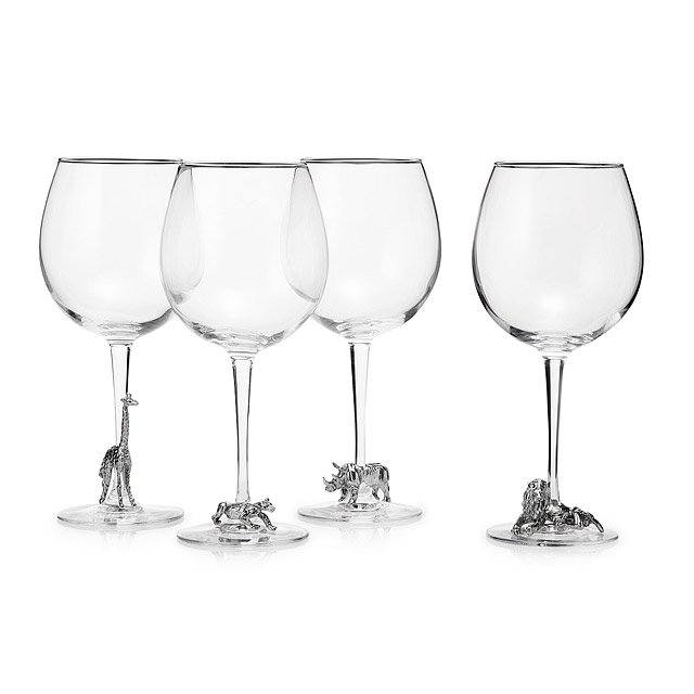 Safari Wine Glass Set