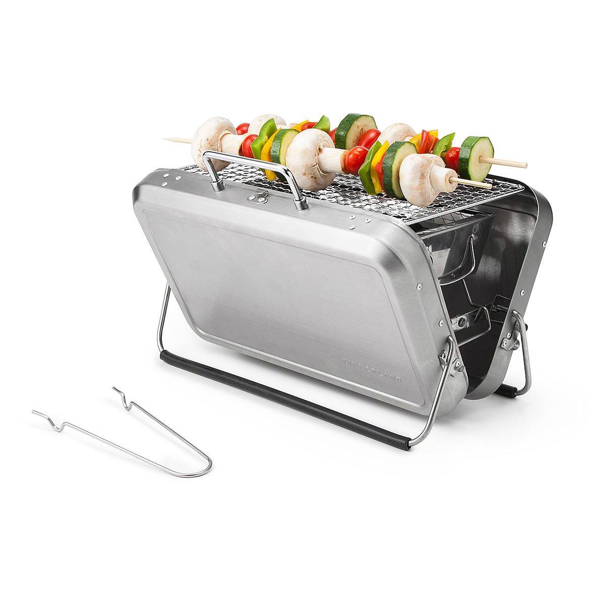 Portable Briefcase BBQ Grill 1 Thumbnail