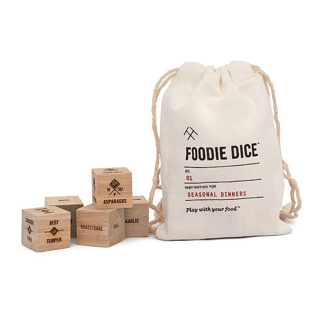 Foodie Dice by Uncommon Goods