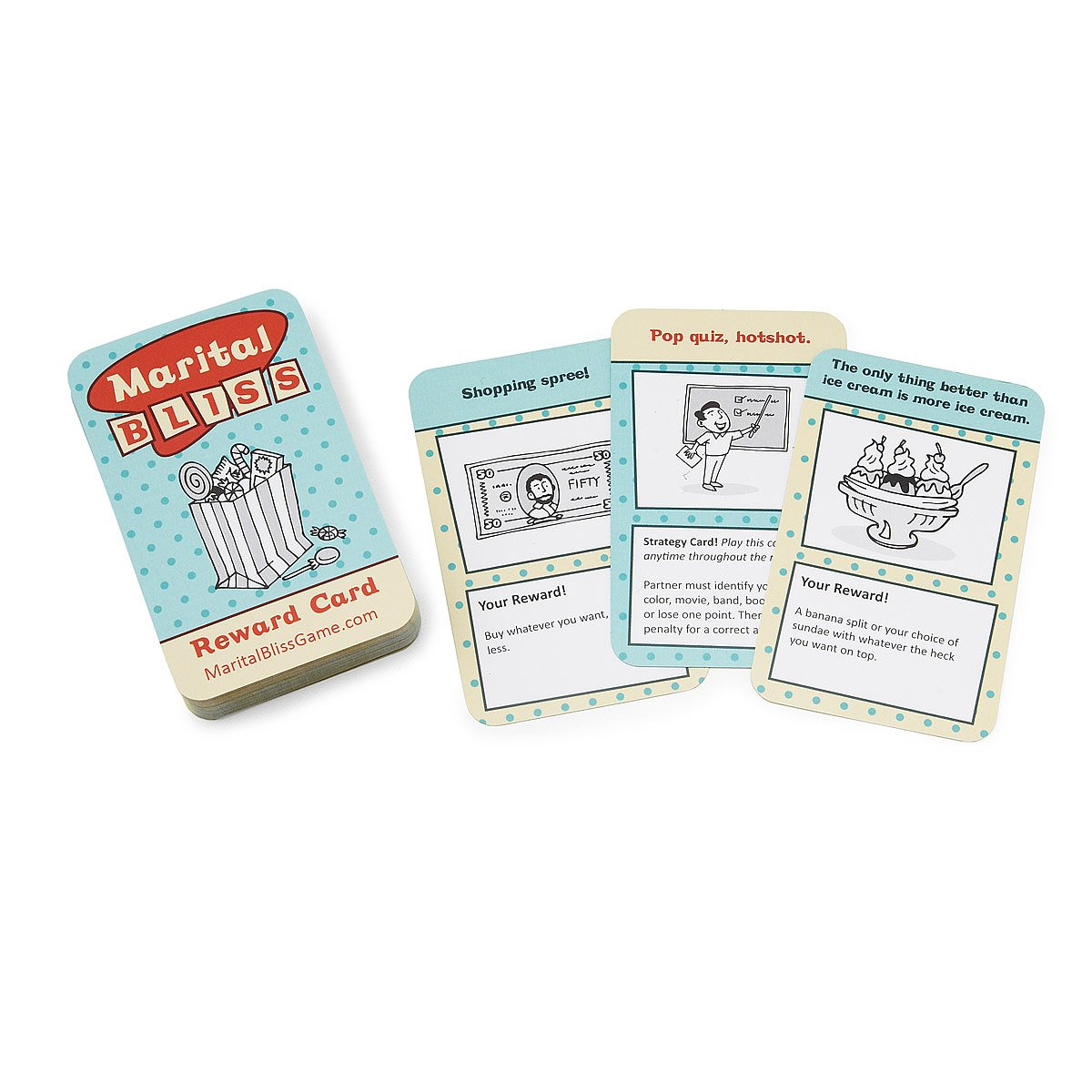 Marital Bliss Game Couples Game Card Game Uncommongoods