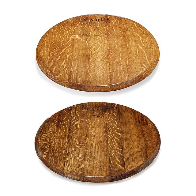 Cooperage Mark Wine Barrel Lazy Susan