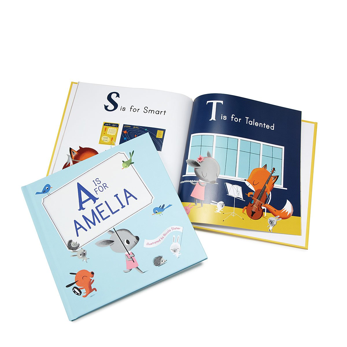 Personalized M Is For Me Book Childrens Picture Amelia 2 Orange 39