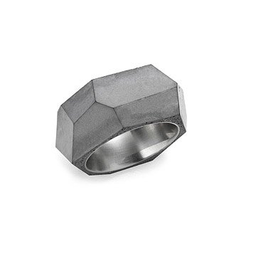 Concrete and Stainless Steel Ring