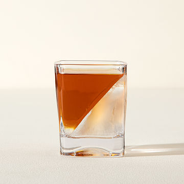 Whiskey Wedge and Glass