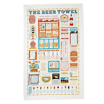 The Beer Lover's Tea Towel