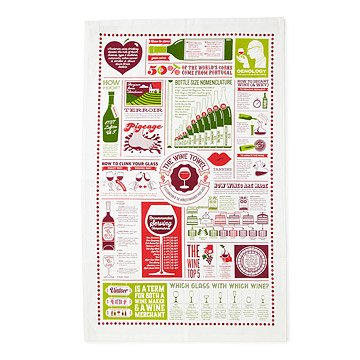 The Wine Lover's Tea Towel