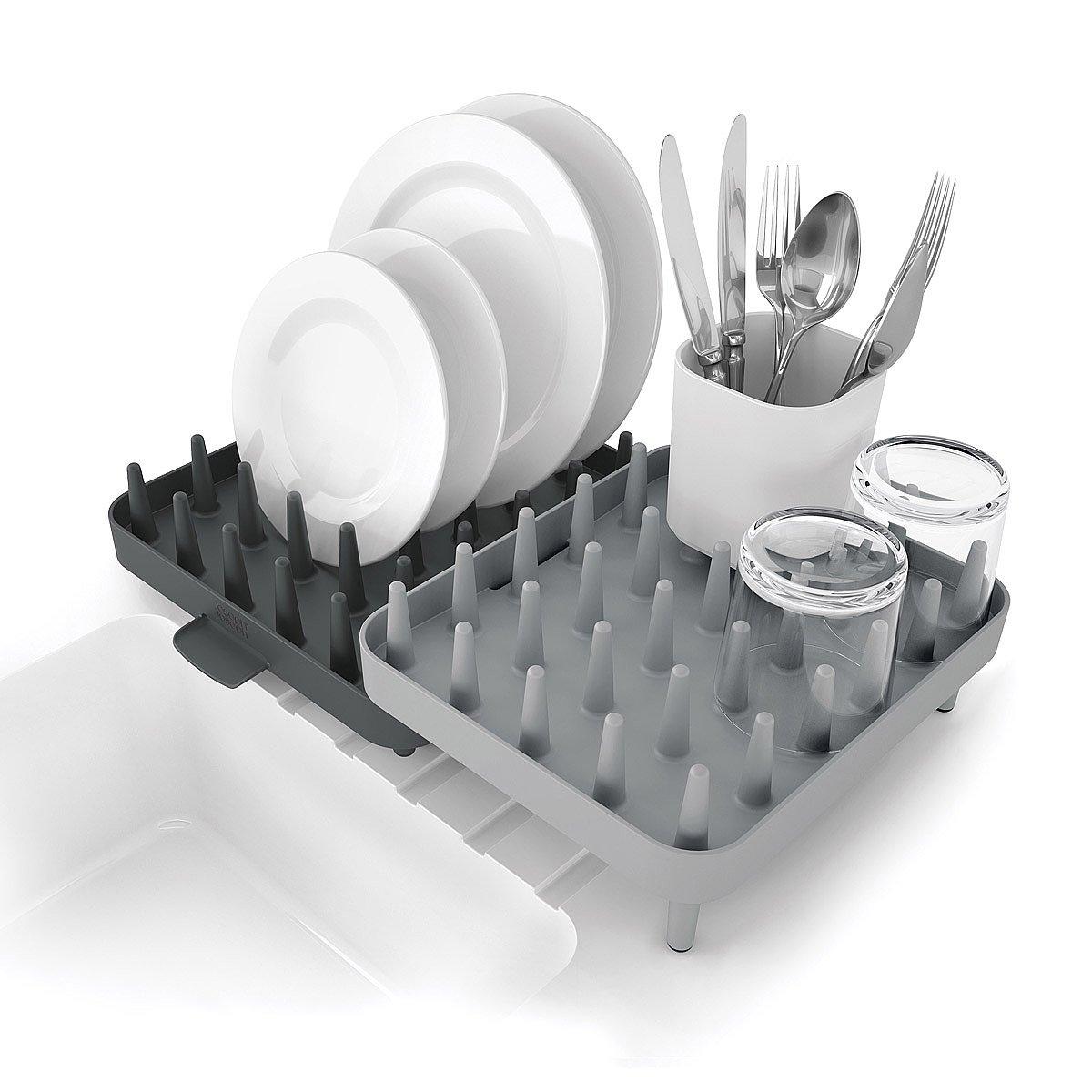 Adjustable 3 Piece Dish Rack 2 Thumbnail