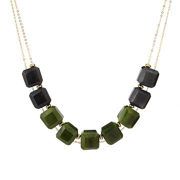 Tagua Gem Necklace