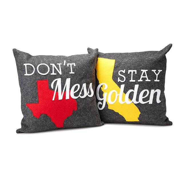 with california collections state pillow love frontpage seersucker texas pillows texasrosesmall embroidery rose customizable