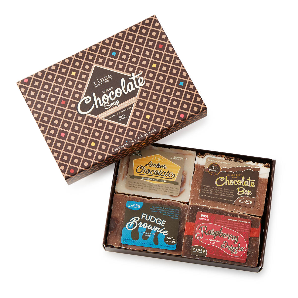 Box of Chocolate Soaps | Handmade Soap | UncommonGoods