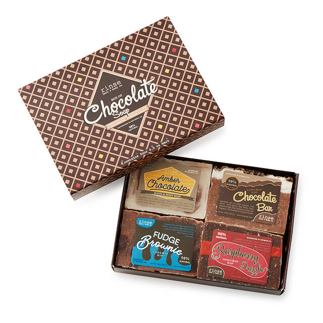Box of Chocolate Soaps