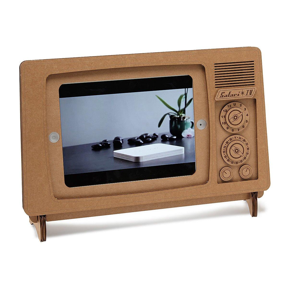 cardboard ipad tv stand recycled ipad stand uncommongoods