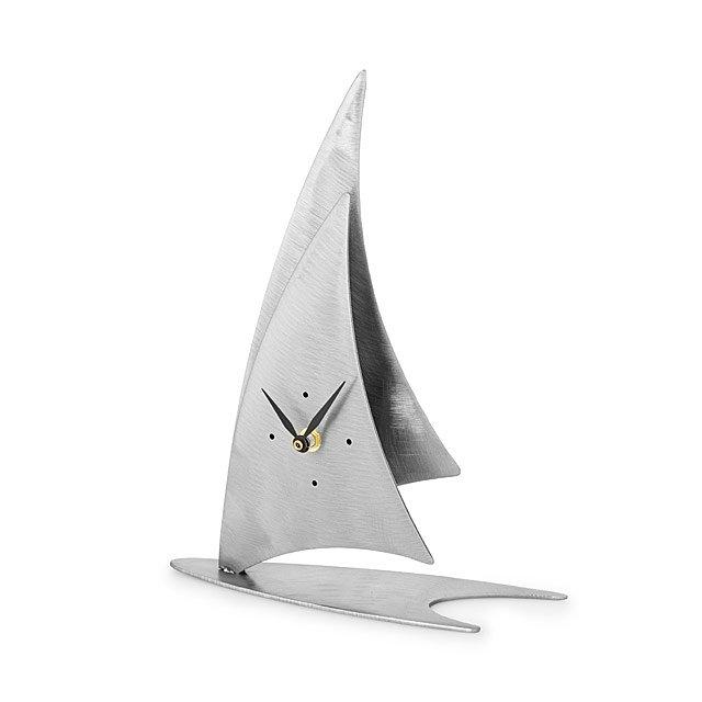 sailboat desk clock - Desk Clocks