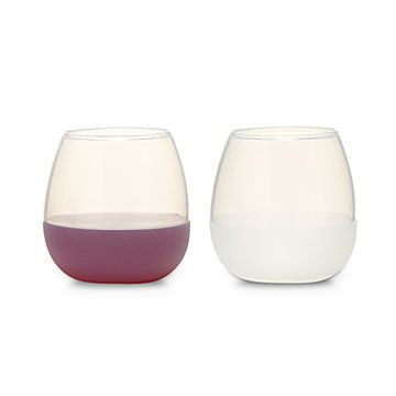 Silicone Wine Glass Set