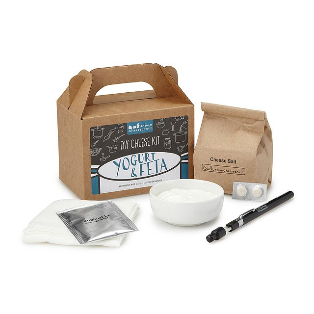 Feta, Greek Yogurt and Yogurt Cheese Kit
