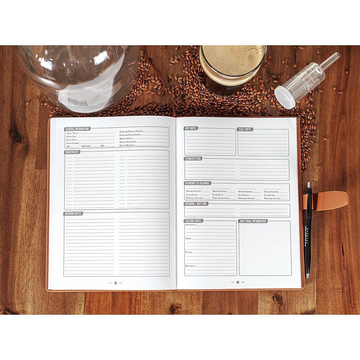 Home Brew Journal | Beer Book | UncommonGoods