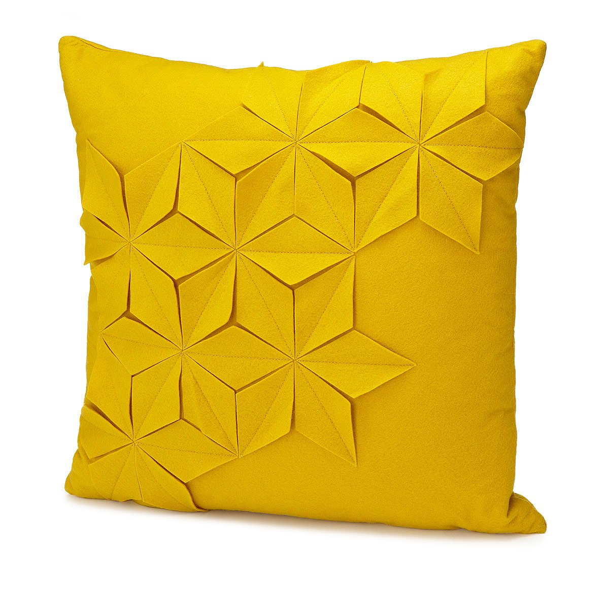 geometric and honeycomb pillows  handmade wool cushions  - geometric and honeycomb pillows  thumbnail