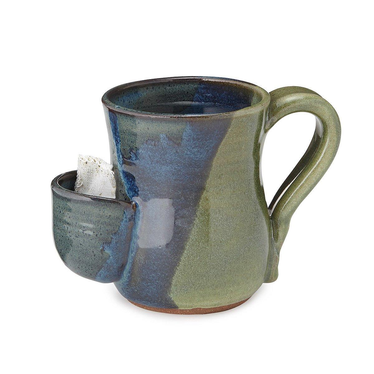 Ceramic Mugs For Sale Part - 38: Tea Bag Pocket Mug