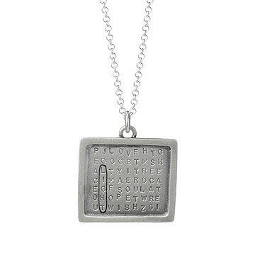 Find a Word Necklace