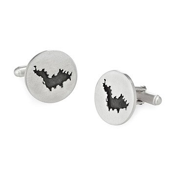 Island and Lake Custom Cufflinks