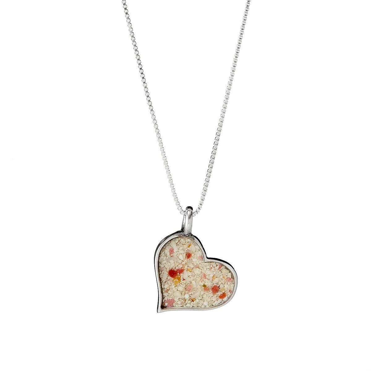 size heart os necklace product necklaces contempo