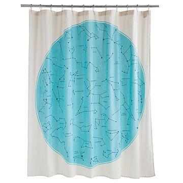 Galaxy Shower Curtain