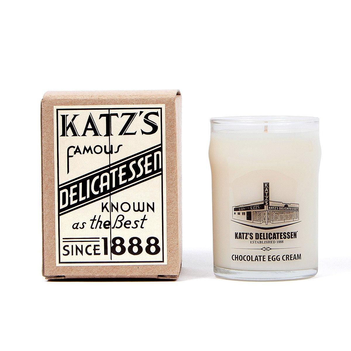 Katz's Chocolate Egg Cream Candle | New York, Manhattan, Katz Deli ...