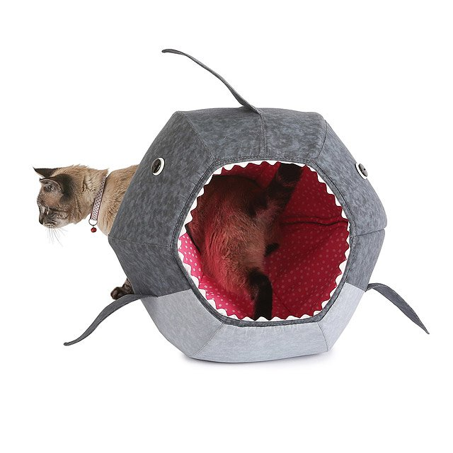 Shark Cat Bed