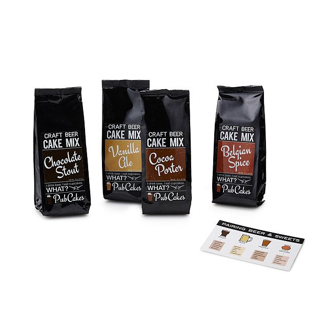 Craft Beer Cake Mix Set