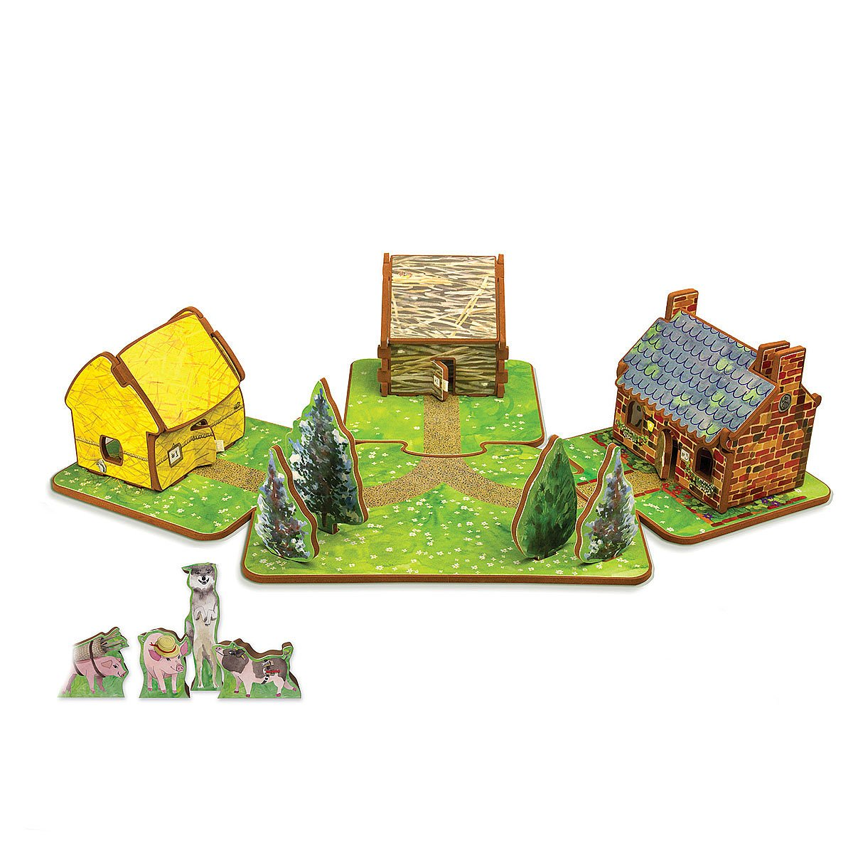 the three little pigs toy house play house for kids uncommongoods