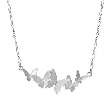 Butterfly Cloud Necklace