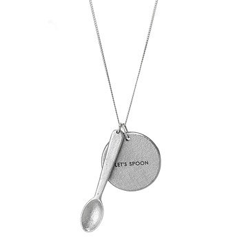 Let's Spoon Peacebomb Necklace