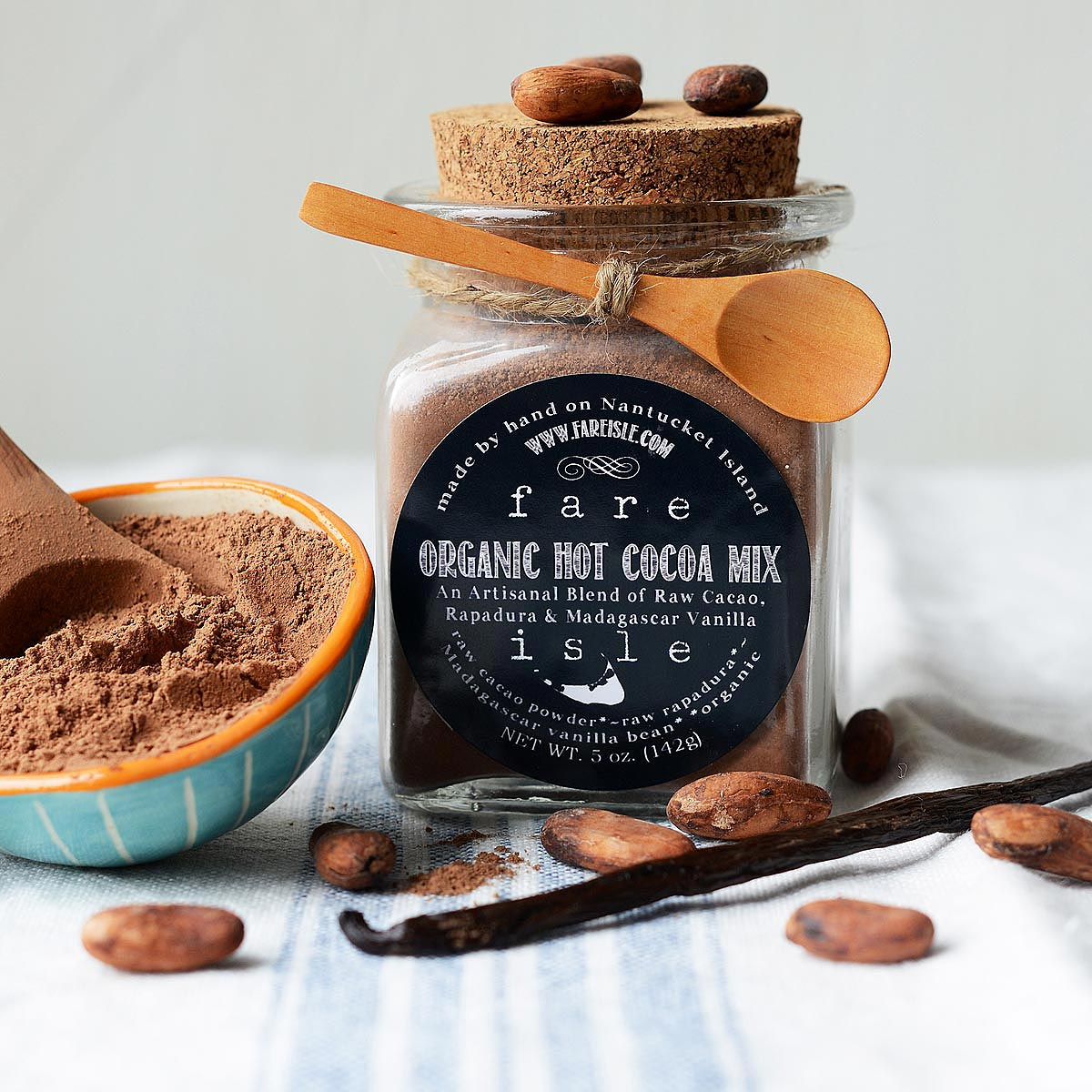 Organic Hot Cocoa Mix with Vanilla Bean | gourmet hot chocolate ...