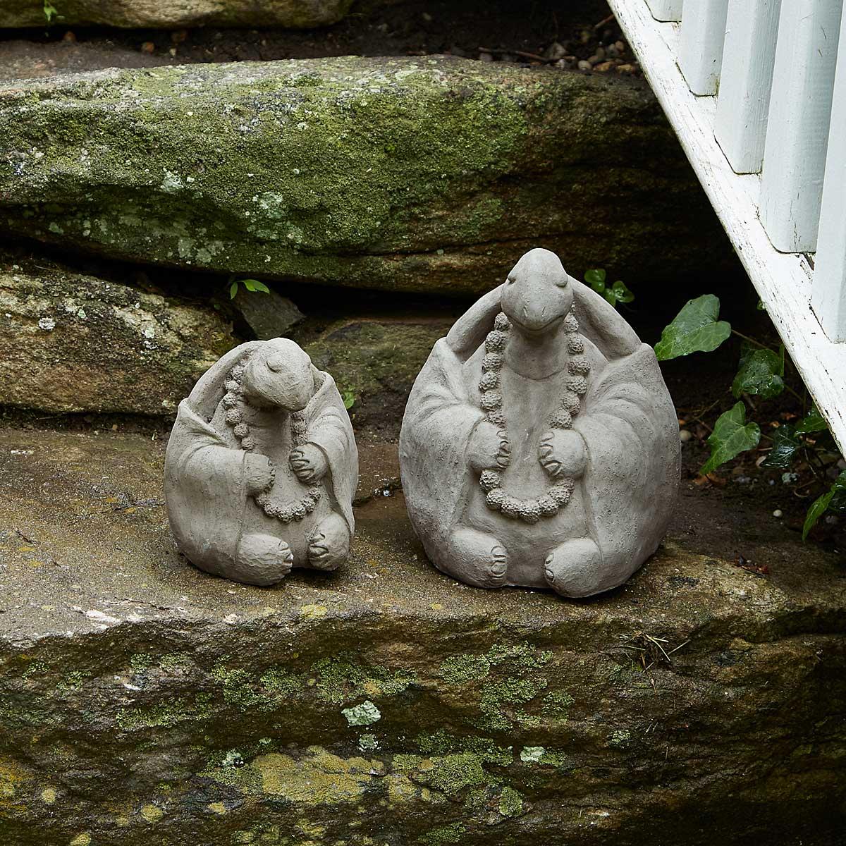 Unique lawn ornaments - Zen Turtle Garden Sculpture