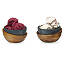 Hot and Cold Soapstone Handheld Bowls - Set of 2 3 thumbnail