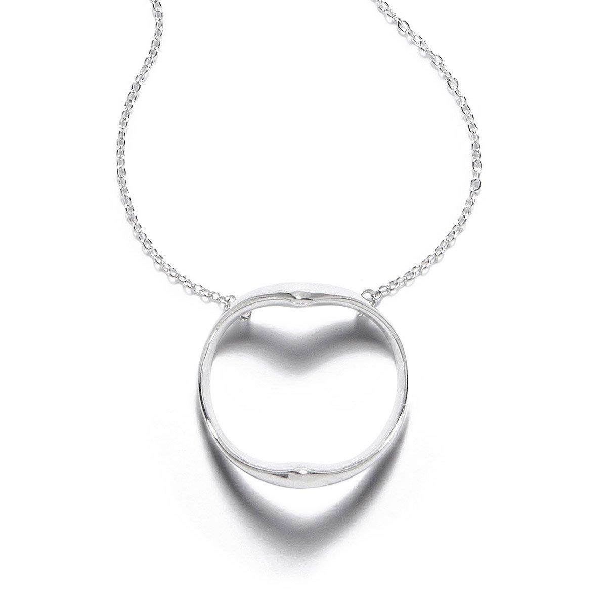 Shadow heart necklace hidden symbol jewelry uncommongoods shadow heart necklace 1 thumbnail aloadofball Gallery