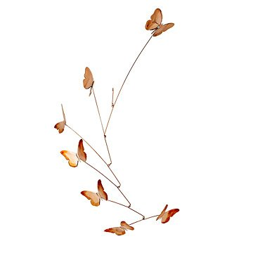 Copper Butterflies Mobile