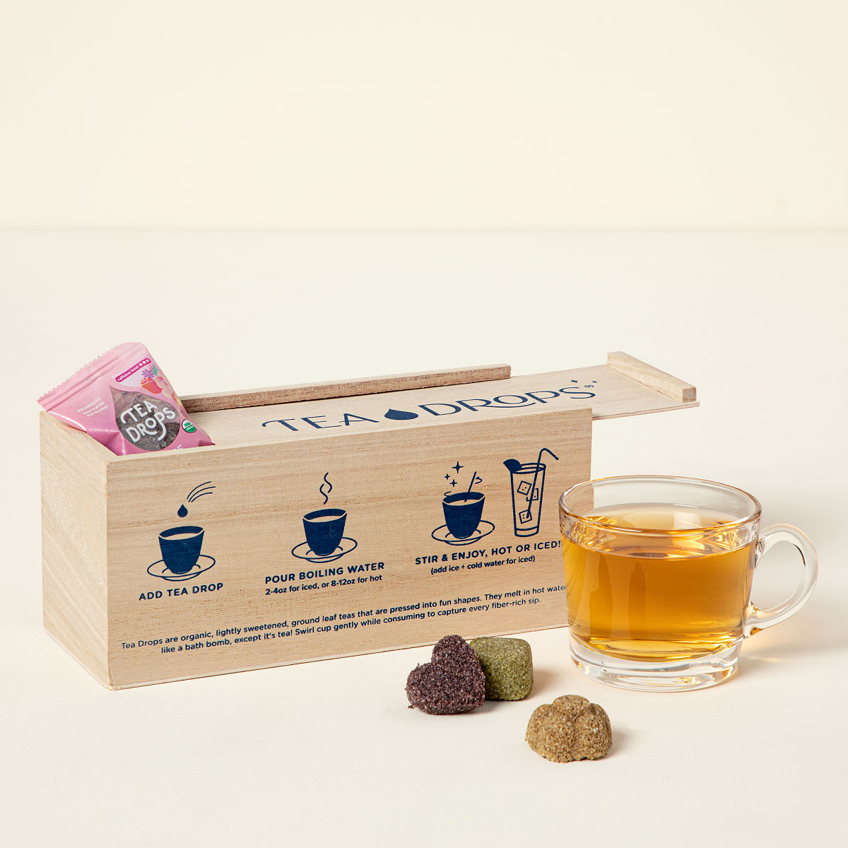 Tea Drop Sampler Instant Organic Uncommongoods