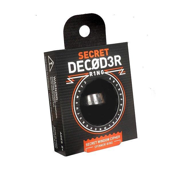 Secret Decoder Ring | secret code breaking | UncommonGoods