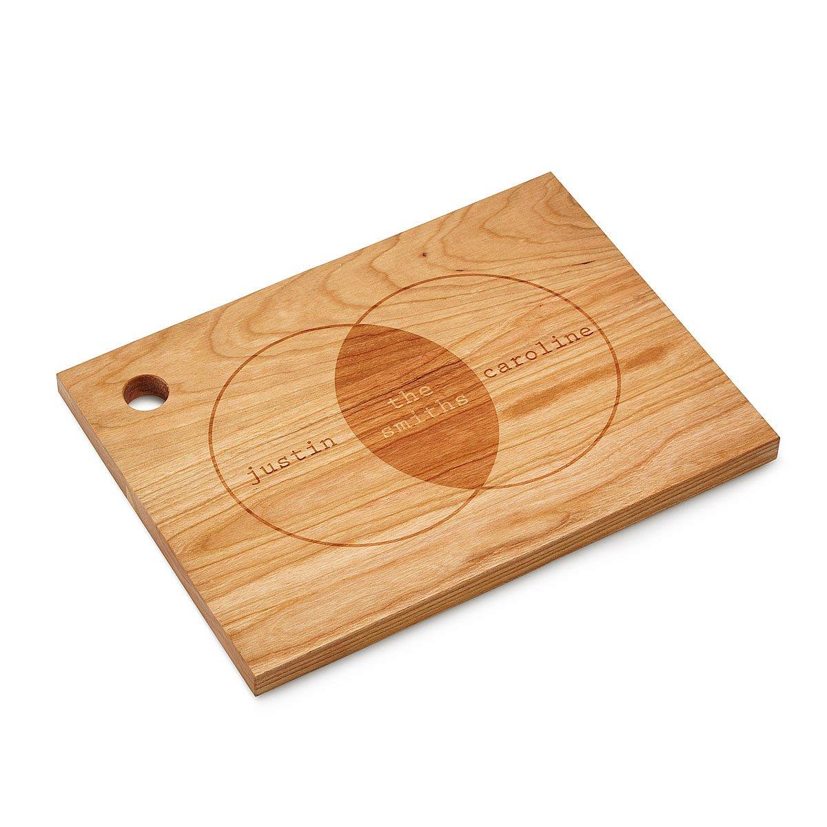 Personalized Venn Diagram Cutting Board