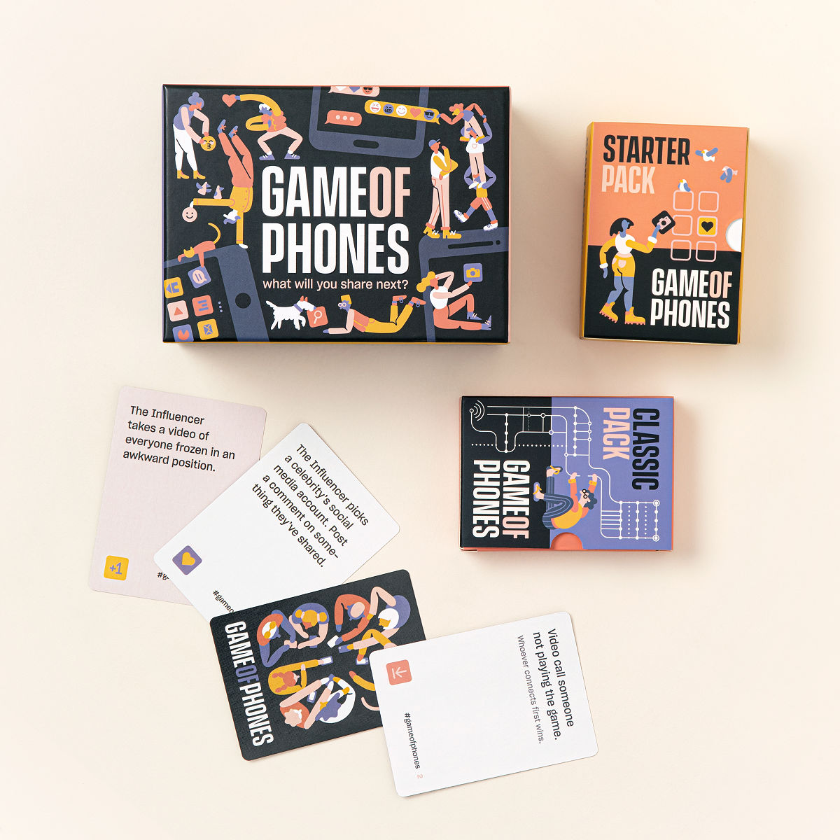Game of Phones - fun date night games  - 22 thoughtful birthday gifts for husband that has everything - TodayWeDate.com
