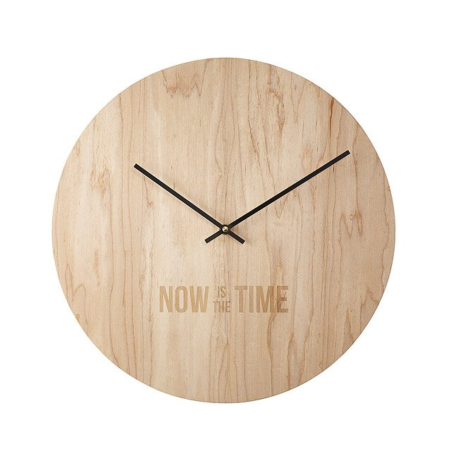 Now is the Time Clock