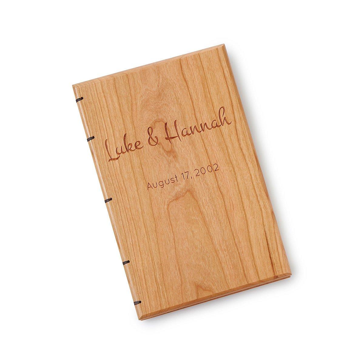 personalized heirloom wedding book writing journals uncommongoods