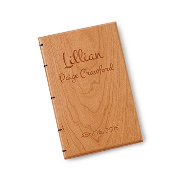 Personalized Heirloom Baby Book