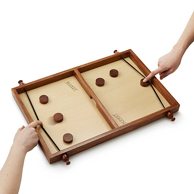 Handmade Pucket Family Game Night Wood Game UncommonGoods Custom Homemade Wooden Board Games