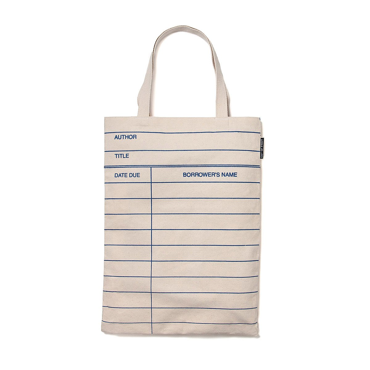 Library Card Tote Bag | Book Bag | UncommonGoods