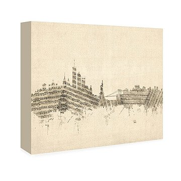 Musical Skyline Art - Small