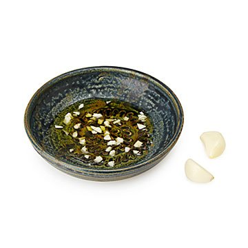 Fossil Garlic Grater and Dipping Dish