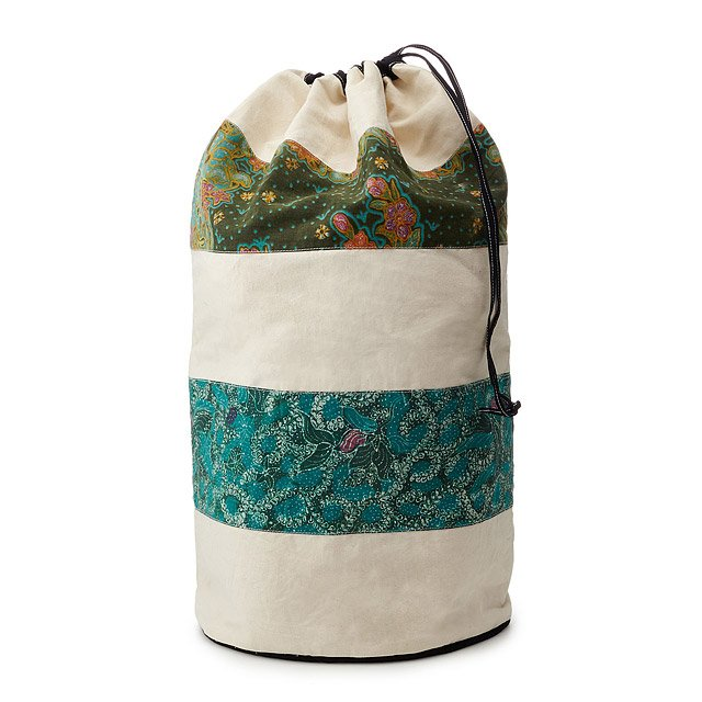 Batik Laundry Bag Backpack